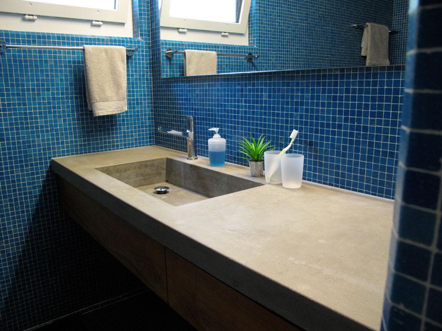 betonwaschtisch renovation eigenheim formda gmbh. Black Bedroom Furniture Sets. Home Design Ideas